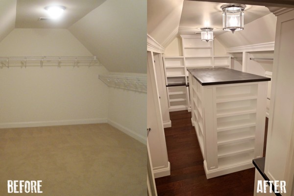 During And After Closet Built In 2