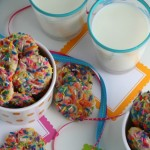 Rainbow Sprinkle Funfetti Cookie Recipe From Scratch #remodelaholic