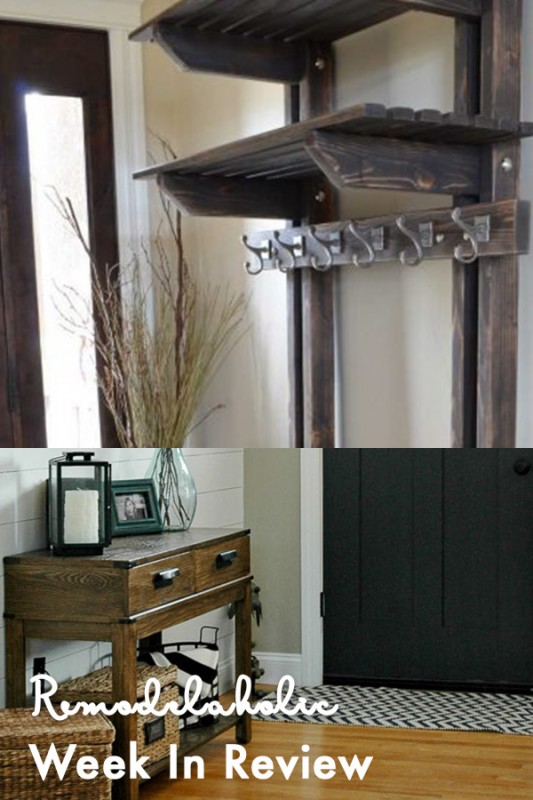 Beautiful Pottery Barn Inspired Coat Rack + 100+ Inspiring Mudrooms And Entryways