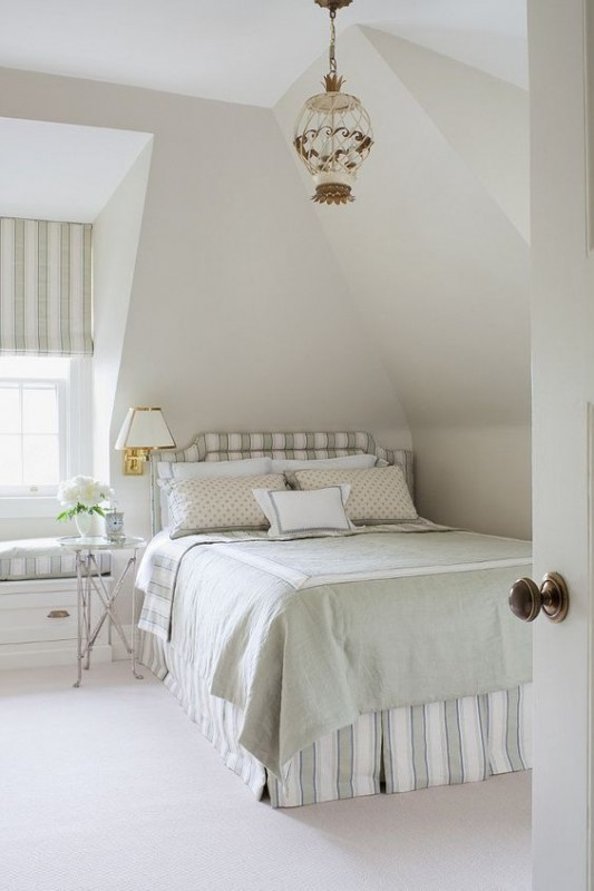 Bedroom With Wall Paint As Color Spotlight Benjamin Moore Pale Oak