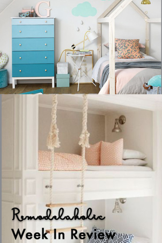 (4.25.2018) How To Create A Gender Neutral Shared Kids' Bedroom + 25 Awesome Built In Beds And Bed Nooks