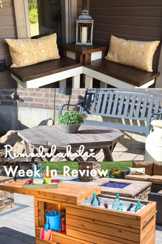 Brilliant DIY Cooler Tables For The Patio (With Built In Coolers, Sinks, And Ice Boxes)