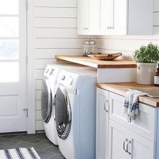 Create A Farmhouse Laundry Room On A Budget