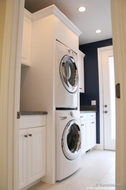 Remodelaholic 30 Medium Sized Laundry Rooms