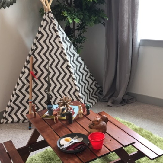 Outdoors Camping Theme Kids Bedroom