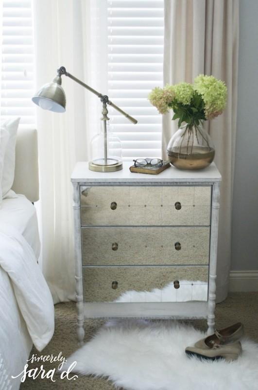 Turned Leg Mirrored IKEA Rast Chest Hack