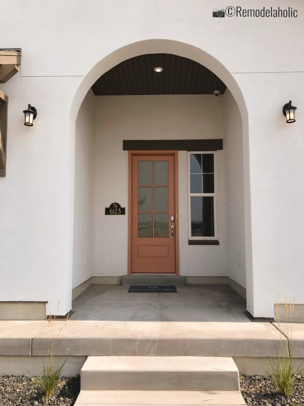 Traditional sconces for exterior lighting, SLPH 2018 Home 18 Oakwood Homes, Photo by Remodelaholic