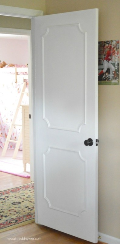 White Door With Added Accent