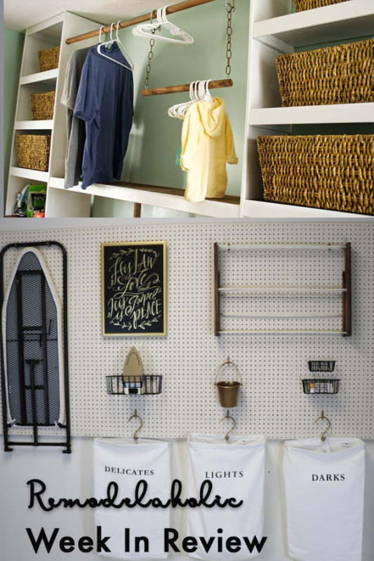 Farmhouse Laundry Room On A Budget