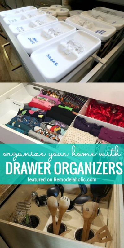 Get Organized One Drawer At A Time With These Amazing Drawer Organizers To Buy Or Build Featured On Remodelaholic.com