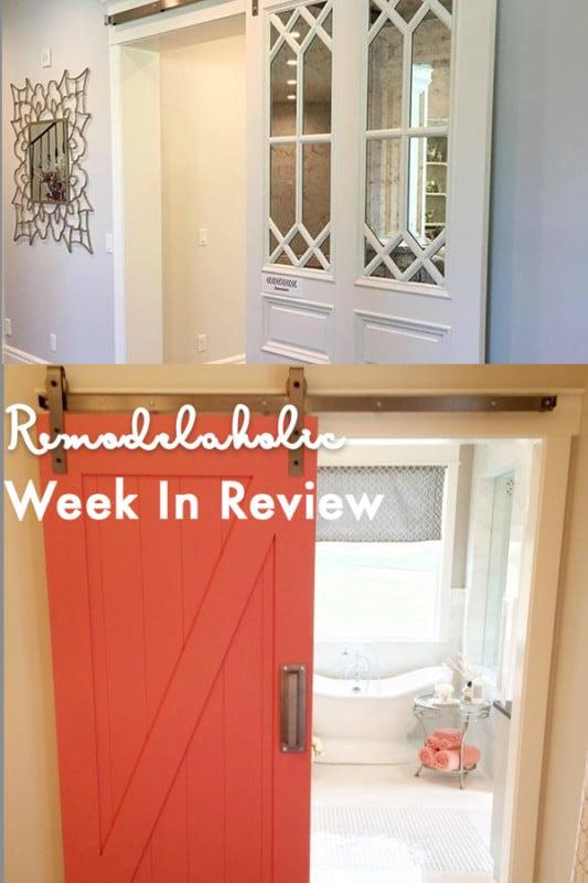 (10.8.2017) Weekly Digest #41 Modern + Unique Barn Door Inspiration