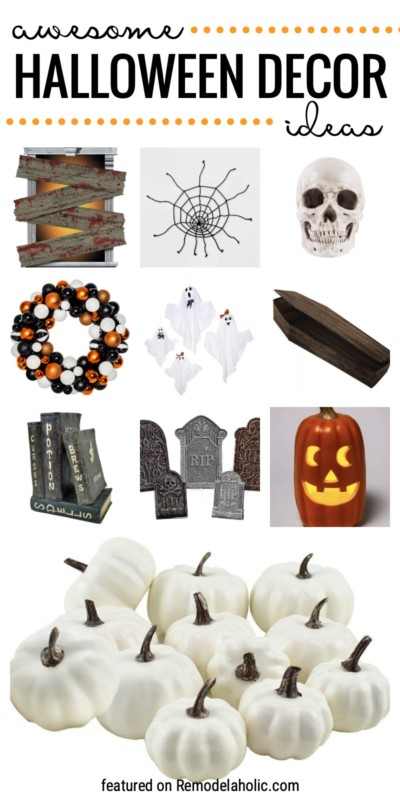Awesome Halloween Decor Ideas Featured On Remodelaholic.com