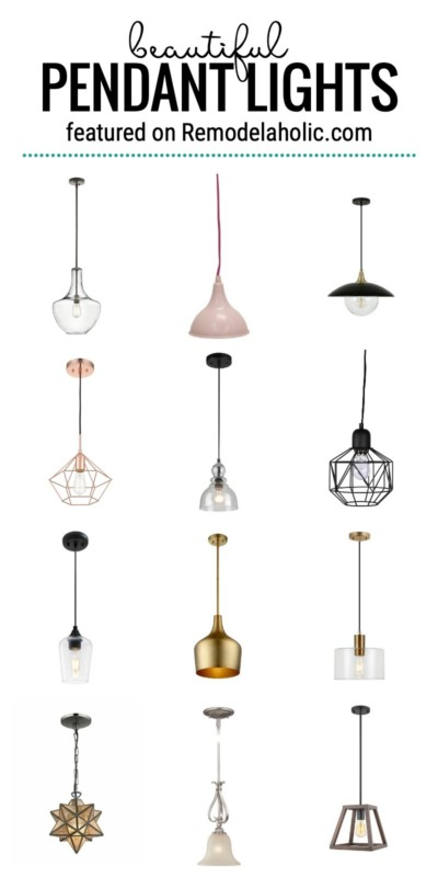 Beautiful Pendant Lights For Your Home And How To Style Them Featured On Remodelaholic.com