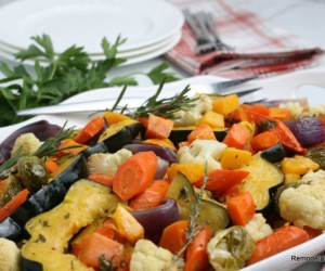 Oven Roasted Fall Vegetables Remodelaholic