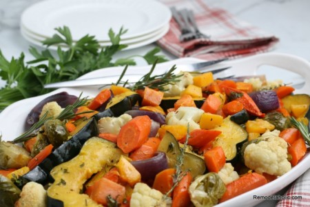Oven Roasted Fall Vegetables Remodelaholic