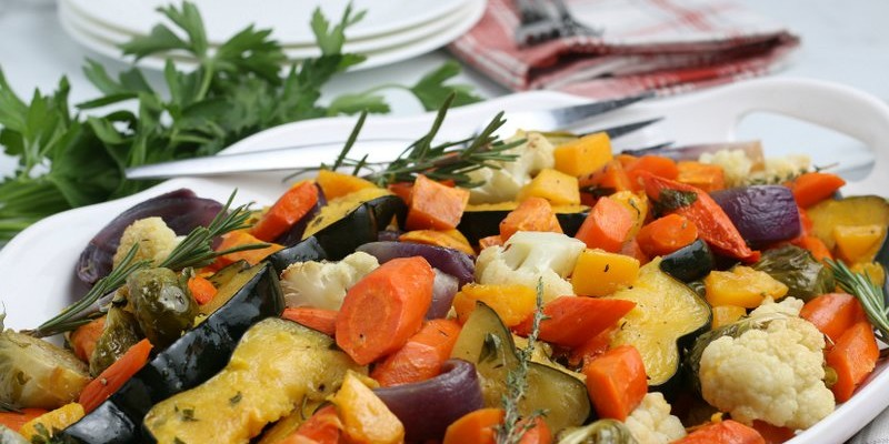 Oven Roasted Vegetables for Fall