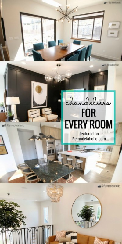 Use Chandeliers In Any Room Of The House With These Styling Ideas Featured On Remodelaholic.com