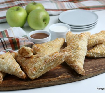 Easy Apple Turnovers Recipe For Mini Apple Pies, Remodelaholic