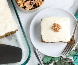 Easy Zucchini Cake With Cream Cheese Frosting Recipe, Remodelaholic