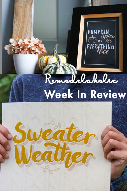 (10.22.2017) Weekly Digest #43 Fun And Easy Fall Decor