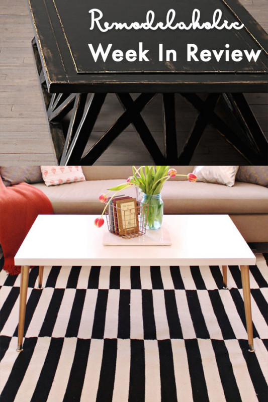 (9.24.2017) Weekly Digest #39 Coffee Tables For The Win