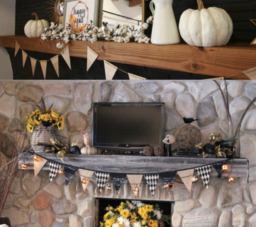 (9.27.2017) Fabulous Fall Mantels How To Create Your Own!