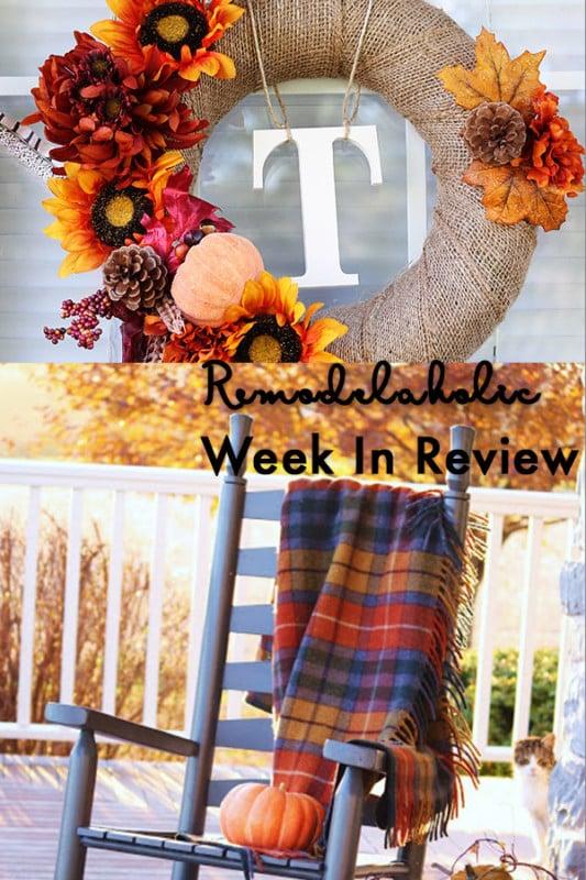 (9.3.2017) Weekly Digest # 36 Les porches d'automne, des commentaires et un cadeau !!!!