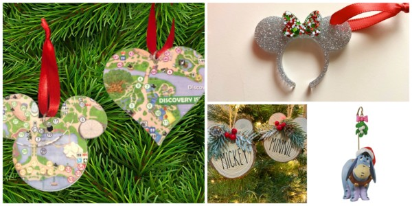 Disney Themed Ornaments! From Characters To Park Ornaments And More Featured On Remodelaholic.com