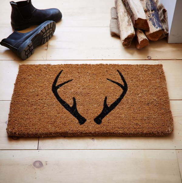 Fall Doormat Ideas, Photo Of Doormat Wth Antlers