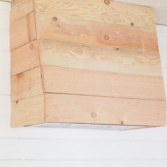 How To Build A Farmhouse Style Custom Wood Vent Hood