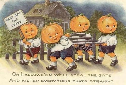 Vintage Halloween Pumpkins 16