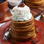 Homemade Pumpkin Pancakes From Scratch, Remodelaholic