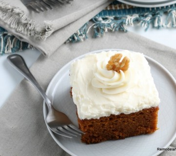 Pumpkin Cake Recipe And Frosting Remodelaholic