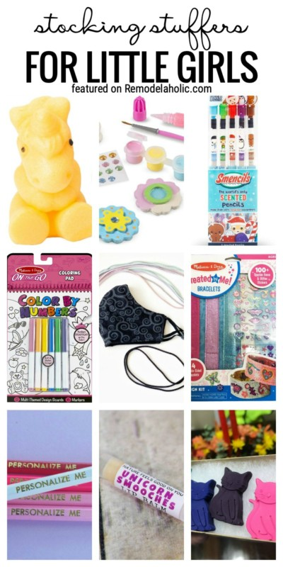 Cute Stocking Stuffers For Little Girls Featured On Remodelaholic.com
