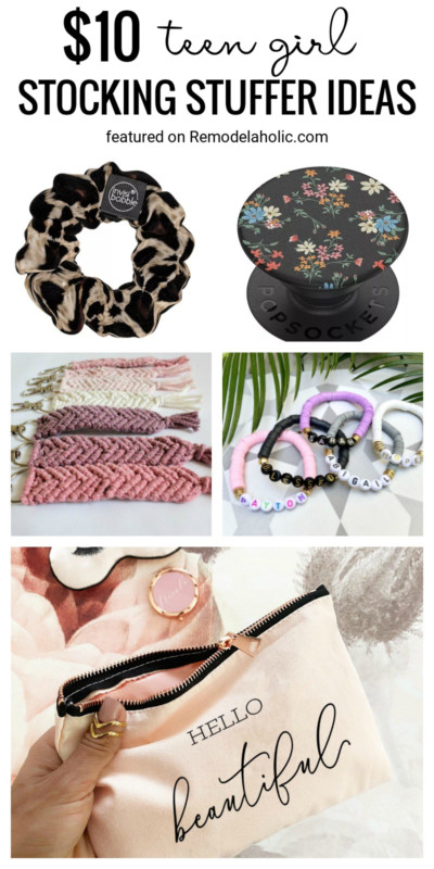 Find Fun Stocking Stuffers For Teen Girls For Under $10 Featured On Remodelaholic.com