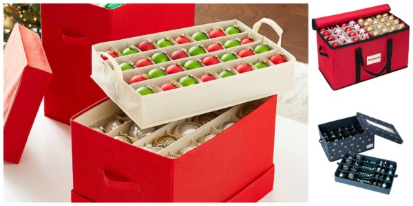 Cool And Simple Options For Storing Christmas Ornaments Featured On Remodelaholic.com