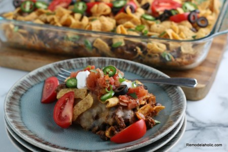 Frito Pie Recipe from Remodelaholic