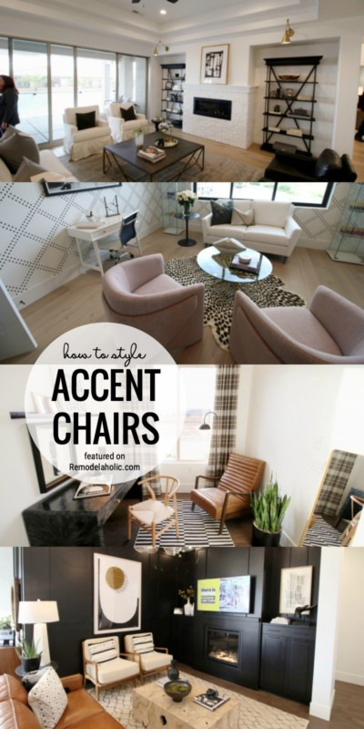 How To Style Accent Chairs And Where To Buy Them Featured On Remodelaholic.com
