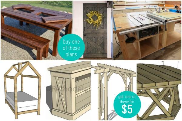 2020 Bestsellers Woodworking Plans Remodelaholic