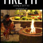 How To Build A Fire Pit From Remodelaholic