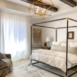 Beautiful Neutral Master Bedroom UVPH Home By Arrive Homes Photo By Remodelaholic