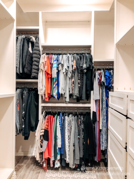 Closet Renovation After, Home Kimprovements On Remodelaholic
