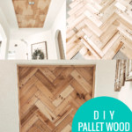 Diy Pallet Wood Ceiling Tutorial For An Inset Recessed Tray Ceiling Update, Home Kimprovements On Remodelaholic
