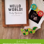 Fast And Easy Editable Printable Pregnancy Announcement Ideas For Photos Remodelaholic