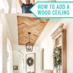 How To Add A Wood Ceiling, DIY Tray Ceiling Idea, Home Kimprovement For Remodelaholic