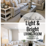 Get This Look Light And Bright Living Room Featured On Remodelaholic.com
