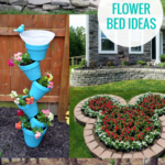 Creative Flower Bed Ideas And Flower Planter Ideas, Remodelaholic