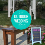 Diy Outdoor Wedding Decoration Ideas You Can Build Yourself Remodelaholic