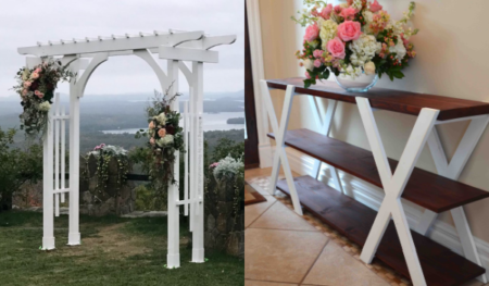 Diy Outdoor Wedding Decoration Tutorials And Plans Remodelaholic