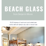 BM Beach Glass Paint Color Works Well With Any Other Paint Color And Any Wood Tone, The Creativity Exchange On Remodelaholic